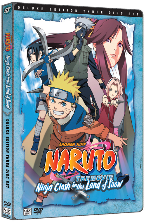 Naruto Movie Deluxe