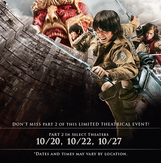 Attack On Titant Live
