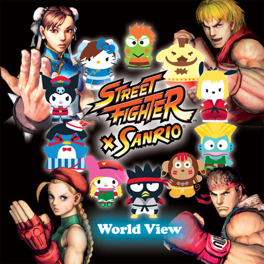 Street Fighter X Sanrio World View
