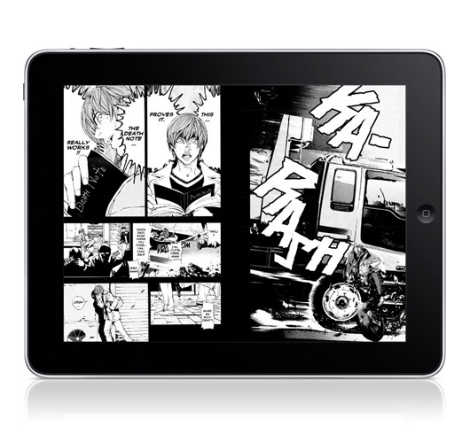 Viz Media iPad Death Note Image