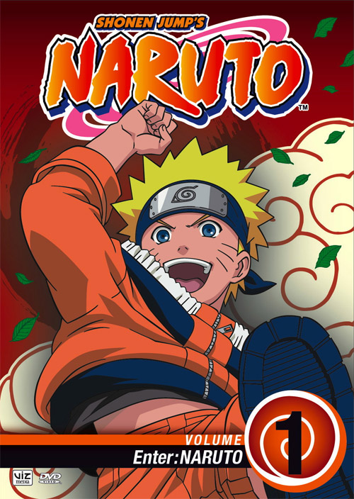Naruto DVD 1 Front Cover