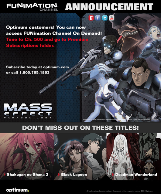 Optimum - FUNimation Channel